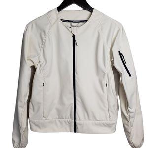 J.Crew New Balance Softshell Ivory Cream Jacket